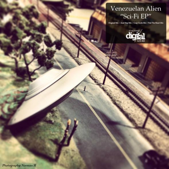 Venezuelan Alien - Sci Fi EP - Stripped Digital