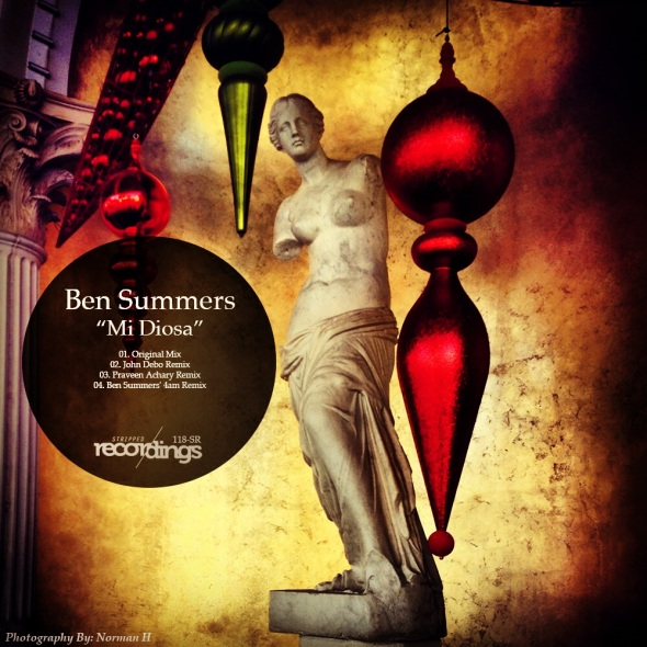 118-SR Ben Summers - Mi Diosa - Stripped Recordings