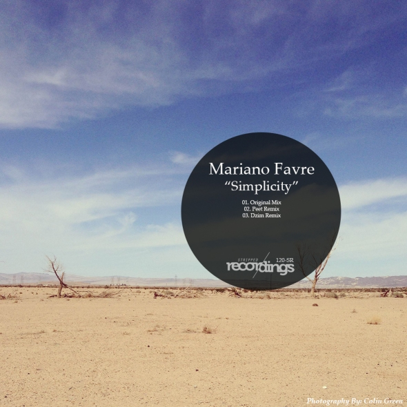 120-SR Mariano Favre - Simplicity - Stripped Recordings