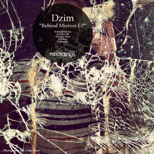 122-SR Dzim - Behind Mirrors EP - Stripped Recordings