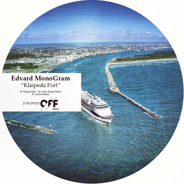 009SO - Edvard Monogram - Klaipeda Port - Stripped Off