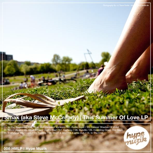 008HMLP - Smak (aka Steve McCready) - This Summer Of Love LP - Hype Muzik