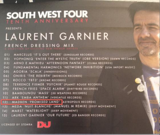 DJ MAG - SouthWest4 CD - Madben - Hype Muzik
