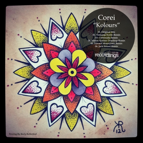127-SR - Corei - Kolours - Stripped Recordings