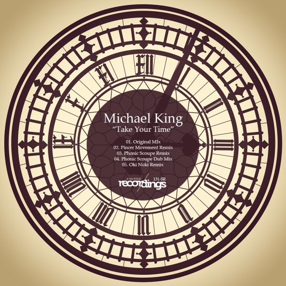 131-SR Michael King - Take Your Time - Stripped Recordings